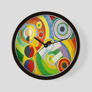 Robert Delaunay Rythme Cubist Wall Clock