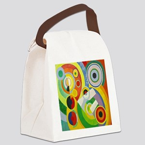 Robert Delaunay Rythme Cubist Canvas Lunch Bag