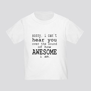 How Awesome Toddler T-Shirt