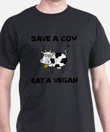 Save Cow Vegan T-Shirt