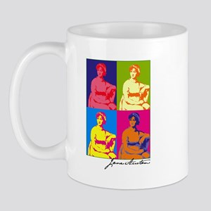 Jane Austen Pop Art Small Mug