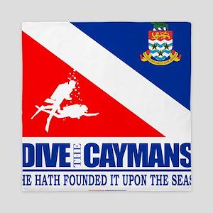 Dive The Caymans Queen Duvet
