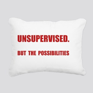 Unsupervised Rectangular Canvas Pillow