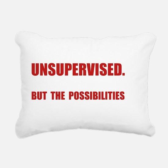Unsupervised Rectangular Canvas Pillow