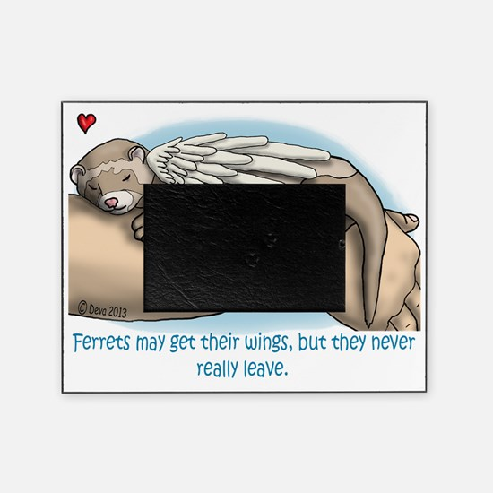 Winged Ferret Picture Frame
