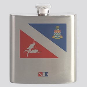 Dive The Caymans Flask