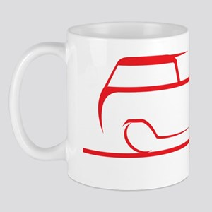 speedy crew cab red Mug