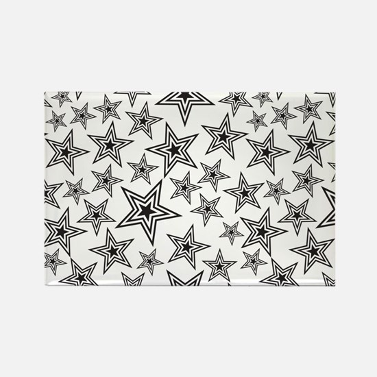 Paulie Star Rectangle Magnet