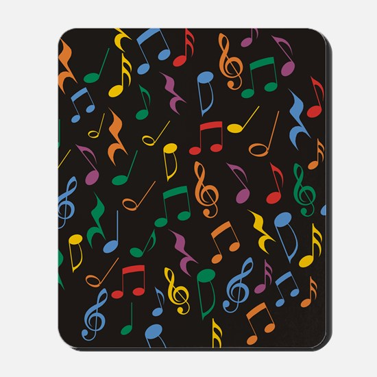 Music Notes Mousepad
