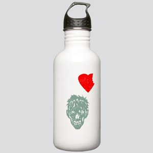 I Heart Zombies Stainless Water Bottle 1.0L