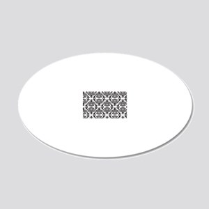 Demask 20x12 Oval Wall Decal
