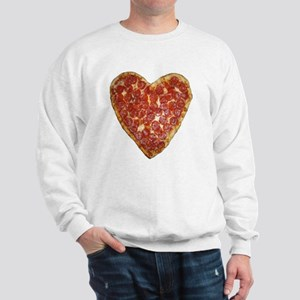 heart pizza Sweatshirt