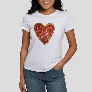 heart pizza Women's T-Shirt