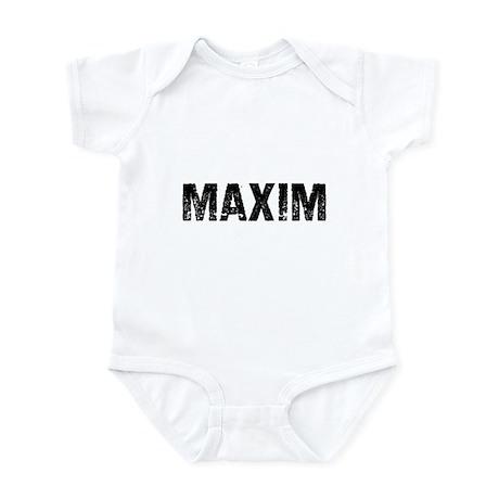 Maxim Infant Bodysuit