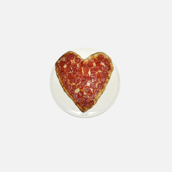 heart pizza Mini Button