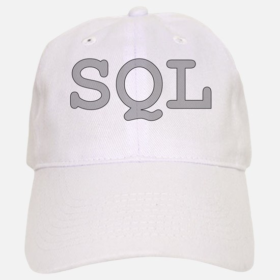 SQL: Structured Query Language Baseball Baseball Cap