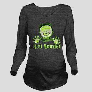 mini monster orange maternity t T-Shirt