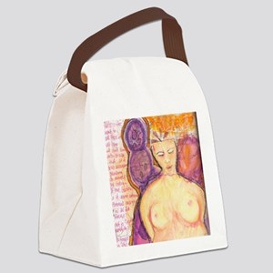 A Goddess in the Words Canvas Lunch Bag