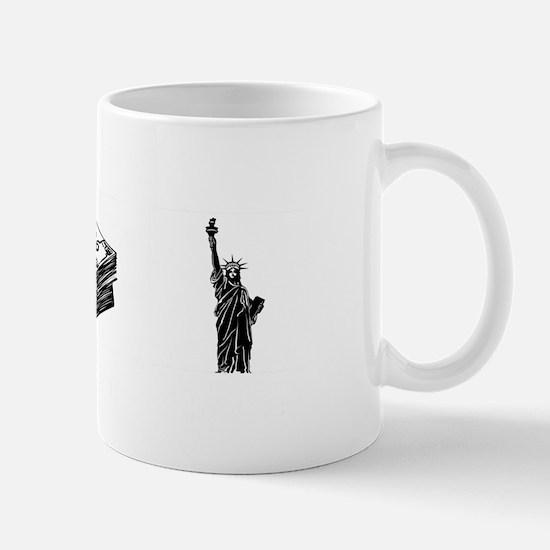 Obama - Ill Keep My Guns, Money and Fre Mug