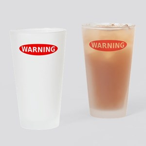 Warning May Contain Alcohol Drinking Glass