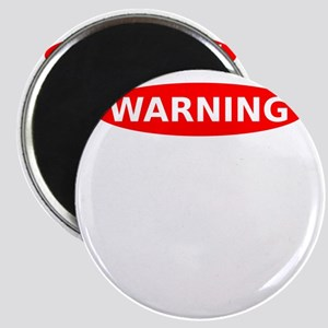 Warning May Contain Alcohol Magnet