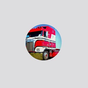 1985 Kenworth Cabover K100 Mini Button