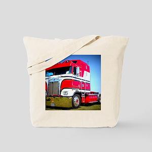 1985 Kenworth Cabover K100 Tote Bag