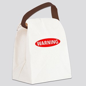 Warning May Contain Rage Canvas Lunch Bag
