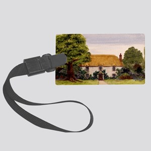StephanieAM Cottage Large Luggage Tag