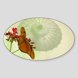 11newBeginnings Sticker (Oval)