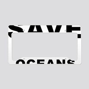 SAVE OUR OCEANS RECYCLE License Plate Holder