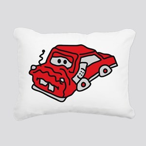 auto_accident Rectangular Canvas Pillow