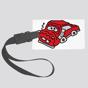 auto_accident Large Luggage Tag