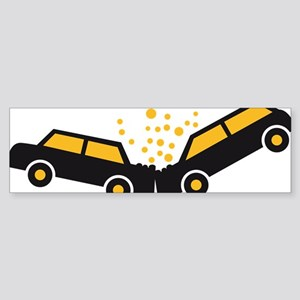 auto_accident Sticker (Bumper)