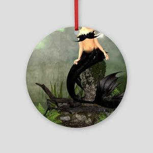 Best Seller Merrow Mermaid Round Ornament