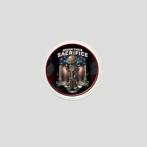 01026 HONOR THEIR SACRIFICE Mini Button