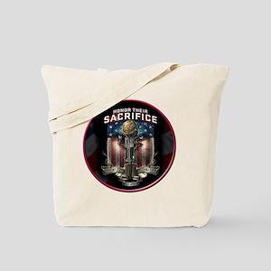 01026 HONOR THEIR SACRIFICE Tote Bag