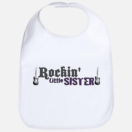 Rockin Little Sister Bib