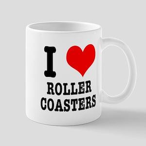 I Heart (Love) Roller Coasters Mug