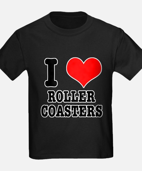 I Heart (Love) Roller Coasters T