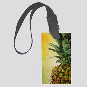 pineapple 2 Large Luggage Tag
