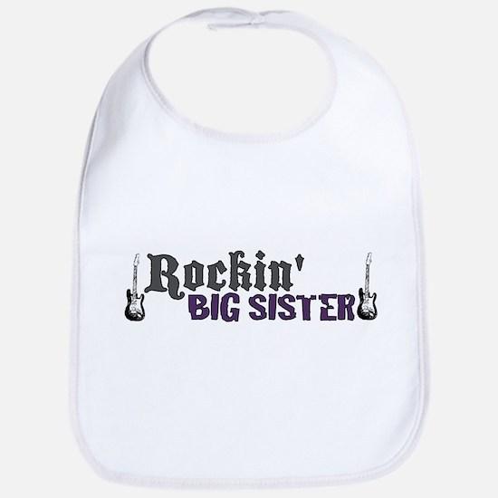 Rockin Big Sister Bib