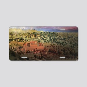 City on a Hill, Image Two Aluminum License Plate