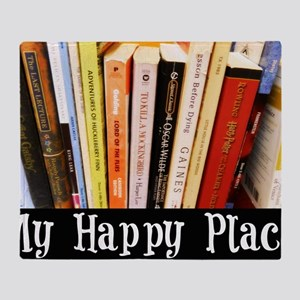 Happy Place Throw Blanket