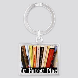 Happy Place Landscape Keychain