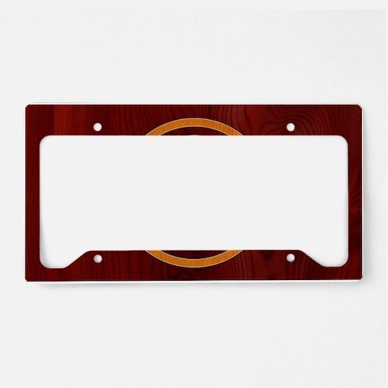 woody-peace-OV License Plate Holder