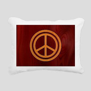 woody-peace-OV Rectangular Canvas Pillow