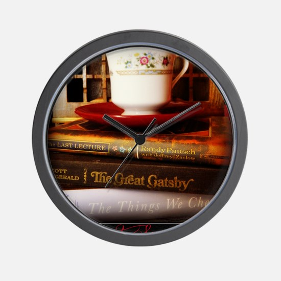 Read, Sip, Love Wall Clock