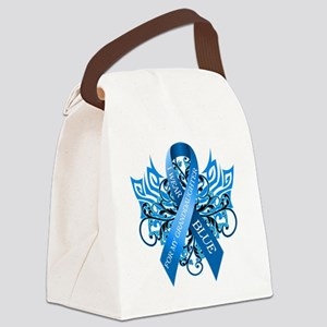 I Wear Blue for my Granddaughter Canvas Lunch Bag