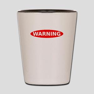 May Contain Scotch Warning Shot Glass